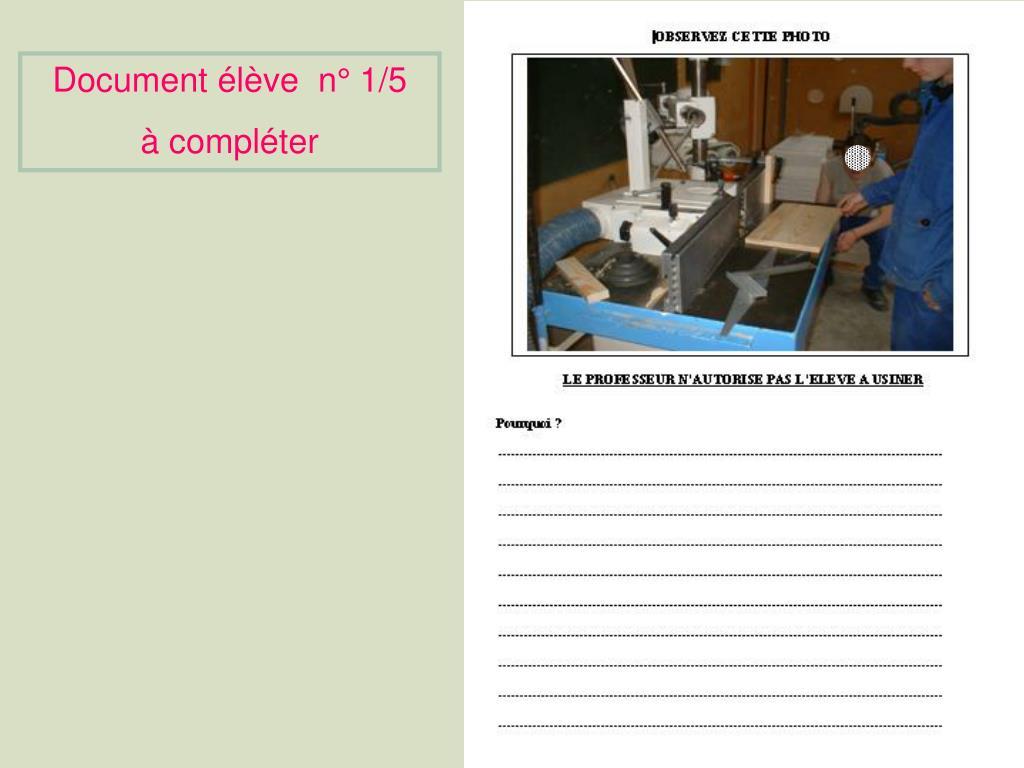 Document élève  n°1/5