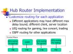 hub router implementation9