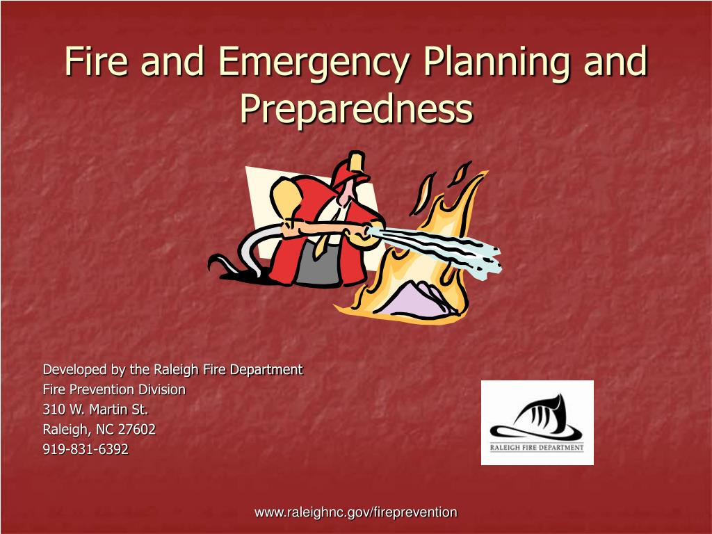 fire and emergency planning and preparedness l.