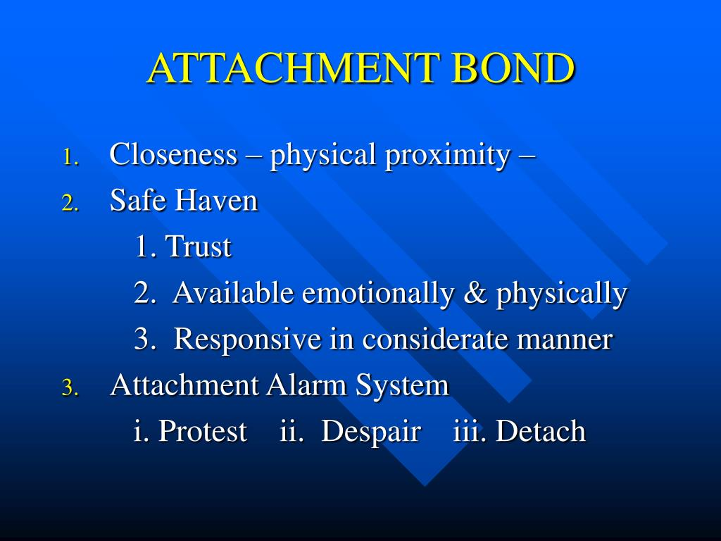 ATTACHMENT BOND