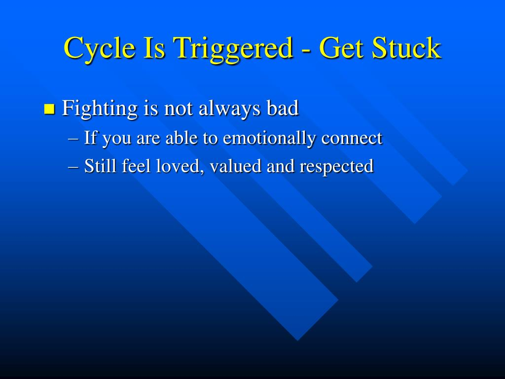 Cycle Is Triggered - Get Stuck
