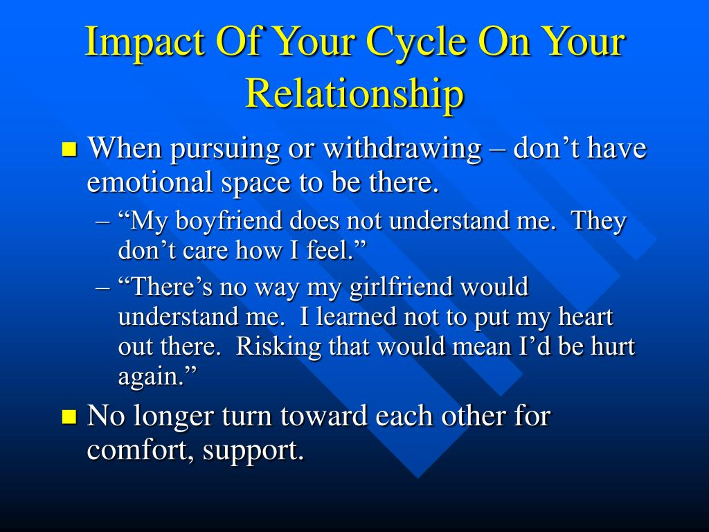 Impact Of Your Cycle On Your Relationship