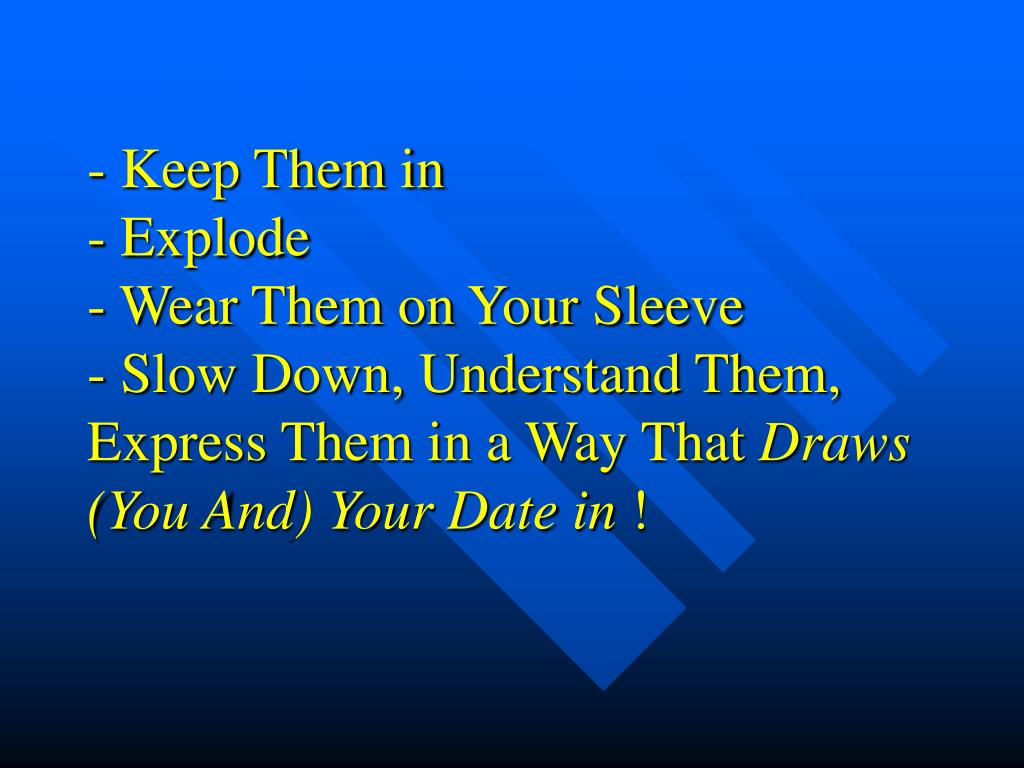 - Keep Them in
