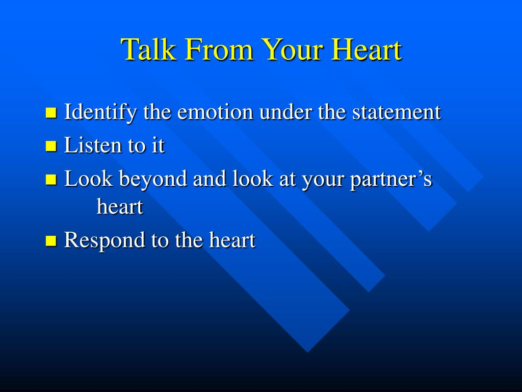 Talk From Your Heart