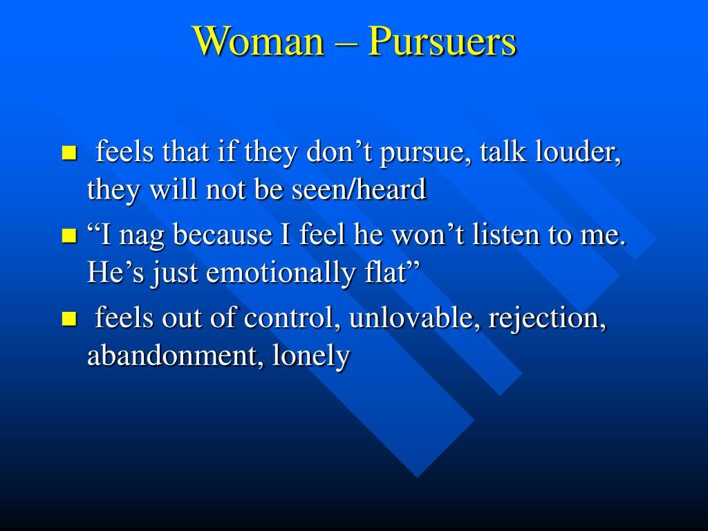 Woman – Pursuers