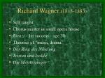 richard wagner 1813 1883