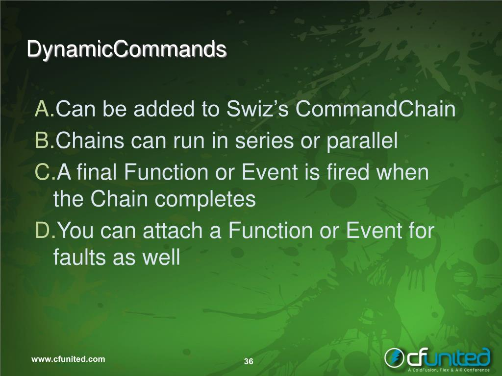 DynamicCommands
