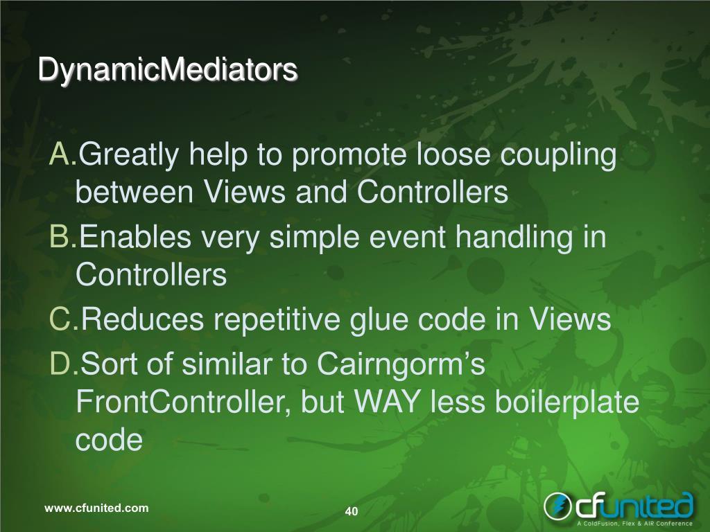DynamicMediators