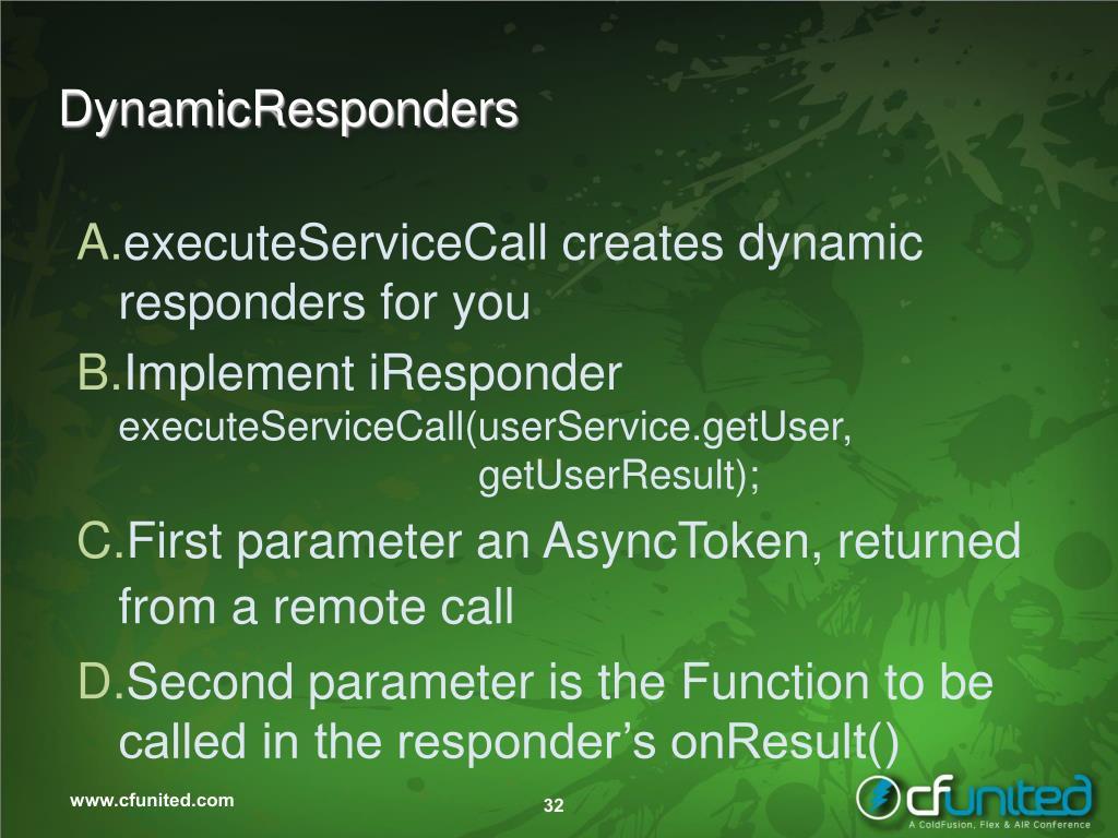 DynamicResponders