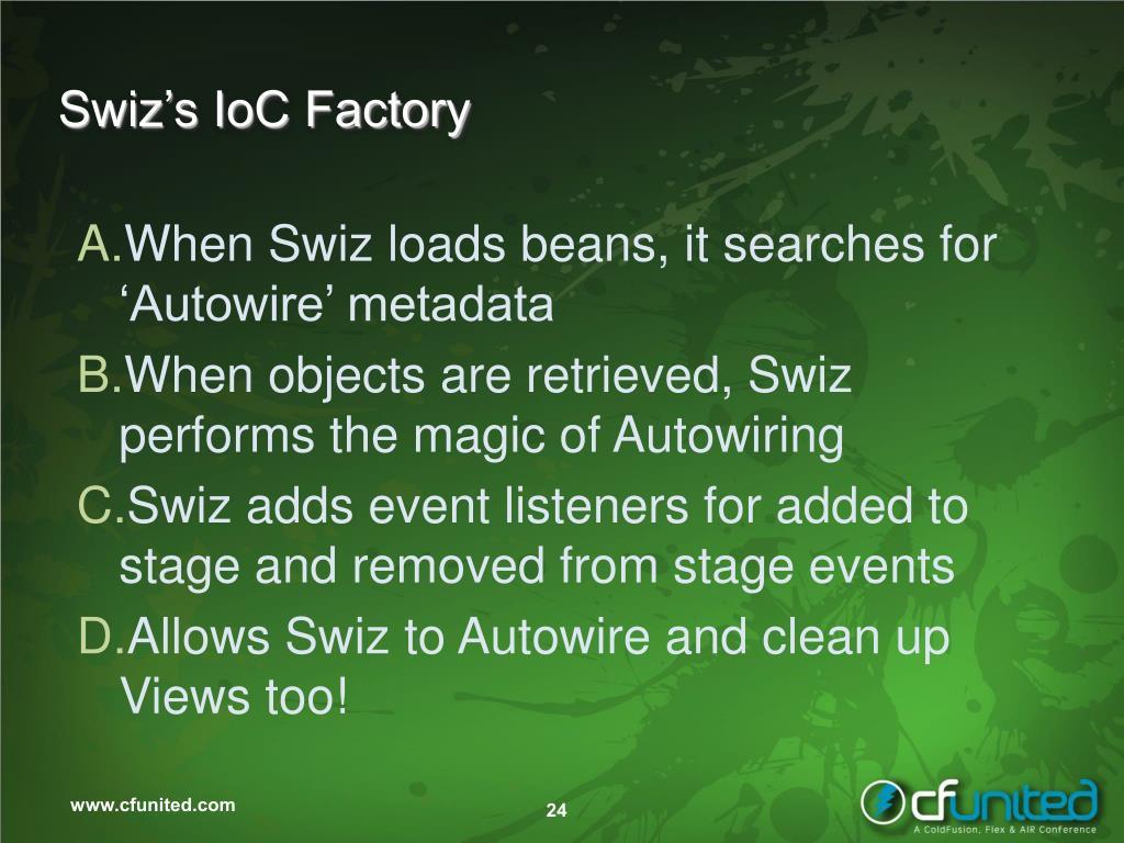 Swiz's IoC Factory