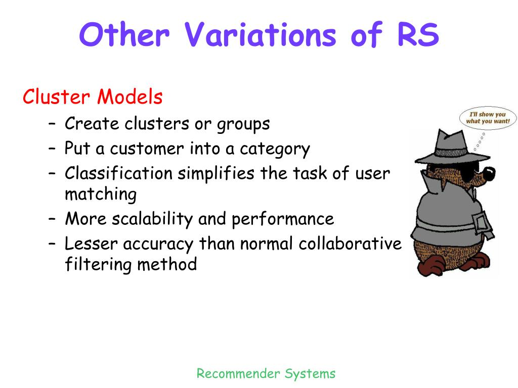 Other Variations of RS
