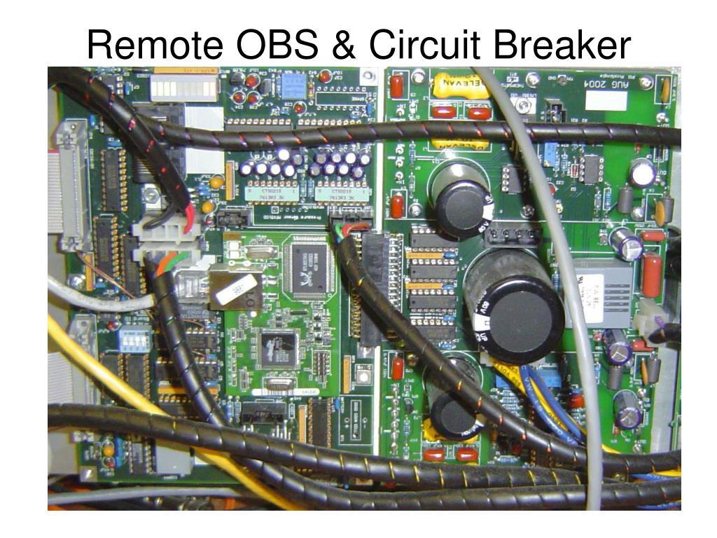 Remote OBS & Circuit Breaker