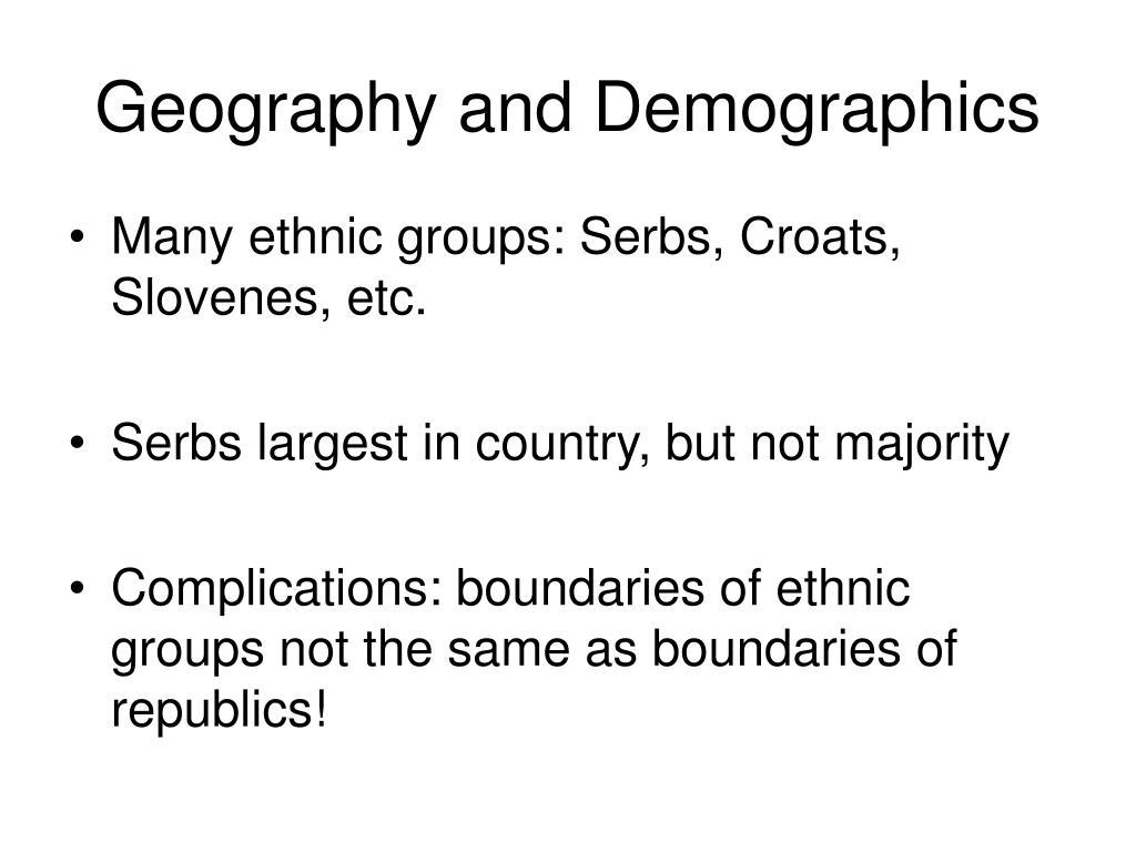 Geography and Demographics