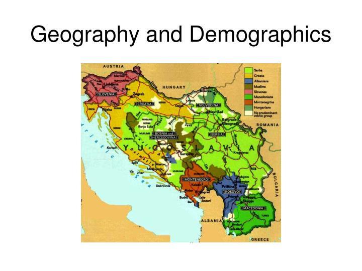Geography and demographics3
