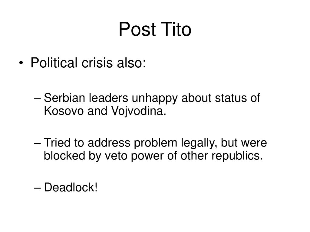 Post Tito