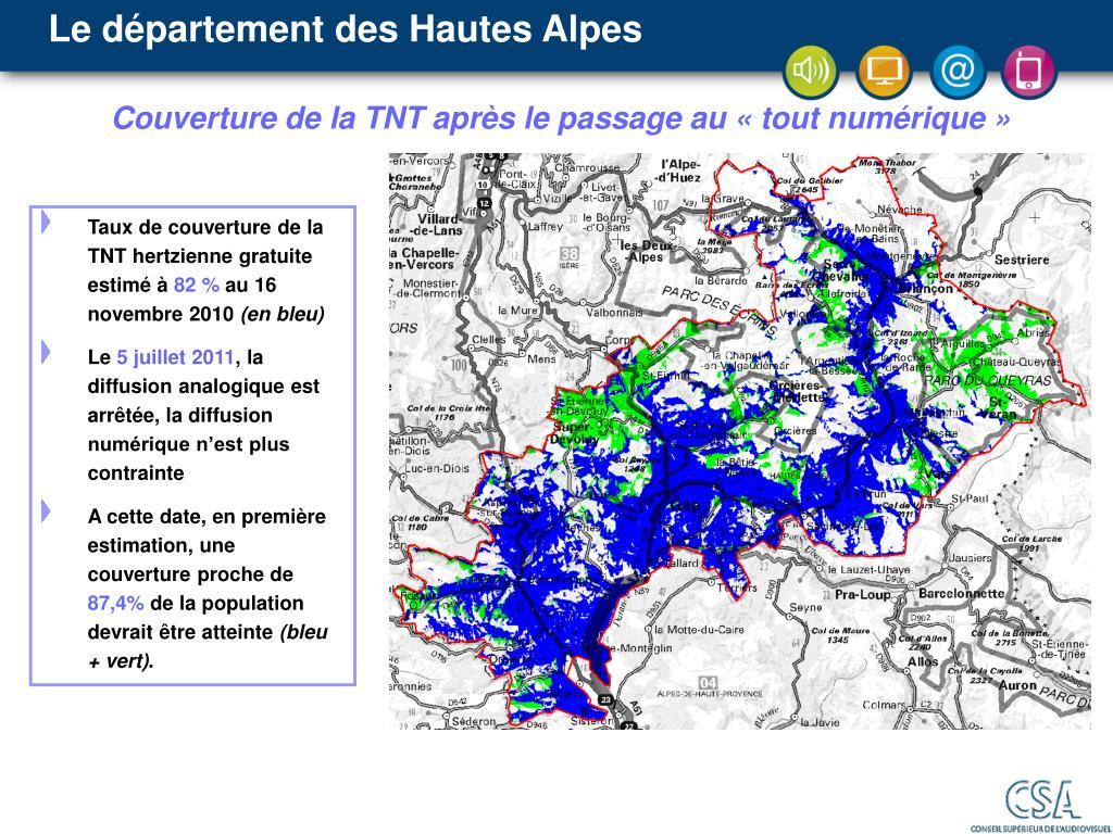 Le département des Hautes Alpes