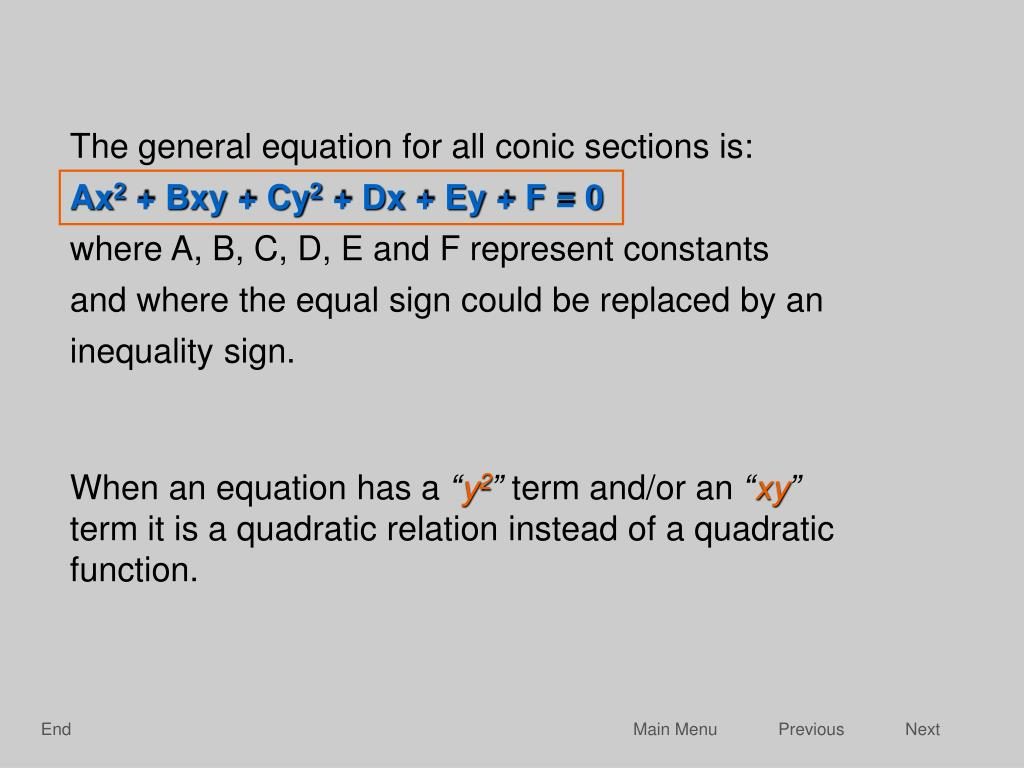 and where the equal sign could be replaced by an