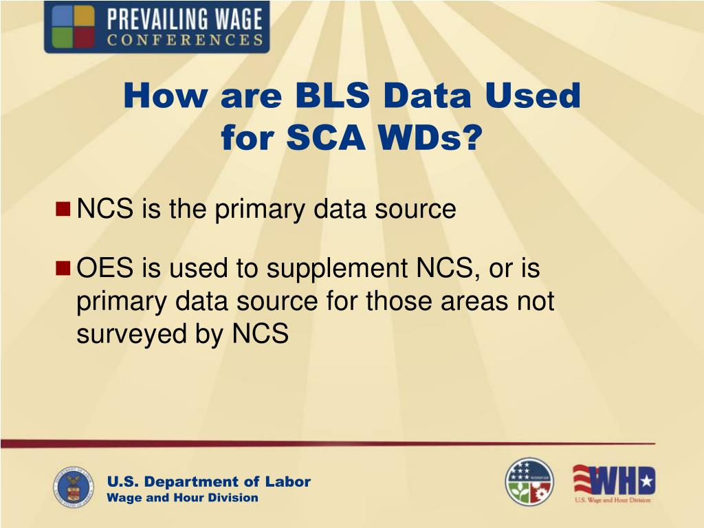 How are BLS Data Used