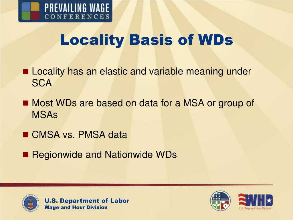 Locality Basis of WDs