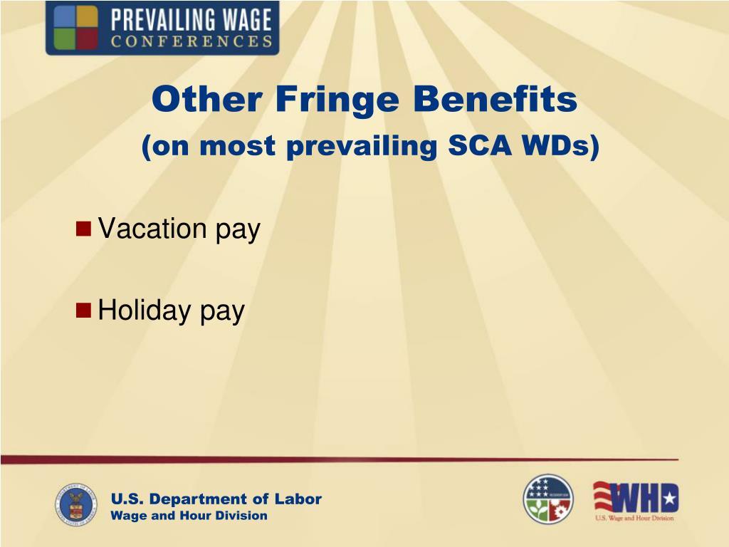 Other Fringe Benefits