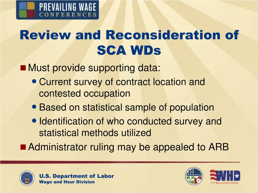 Review and Reconsideration of