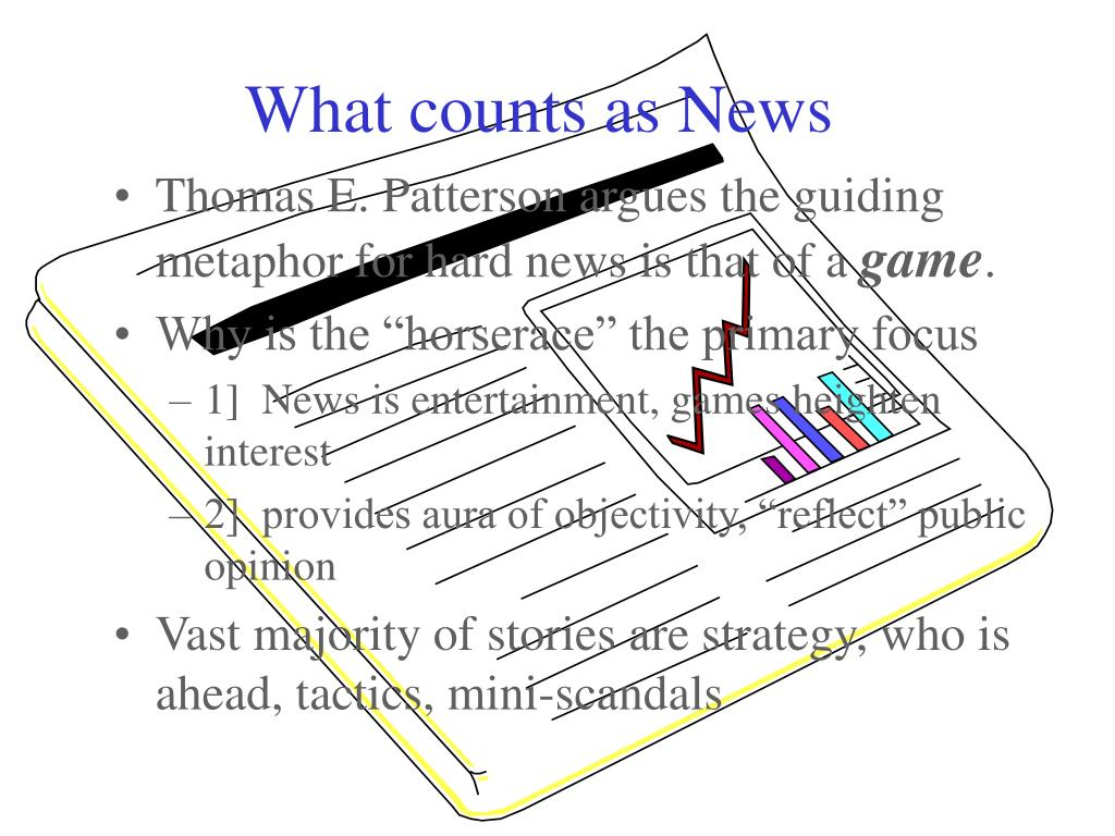 What counts as News