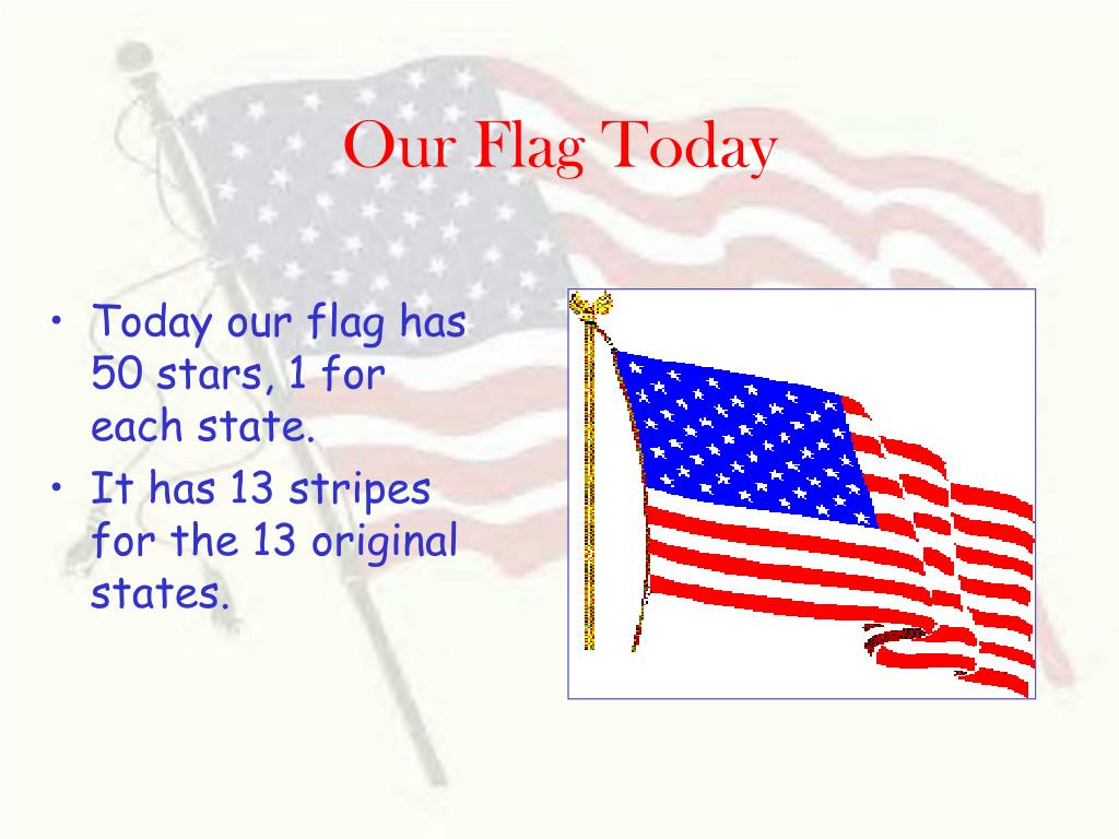Our Flag Today