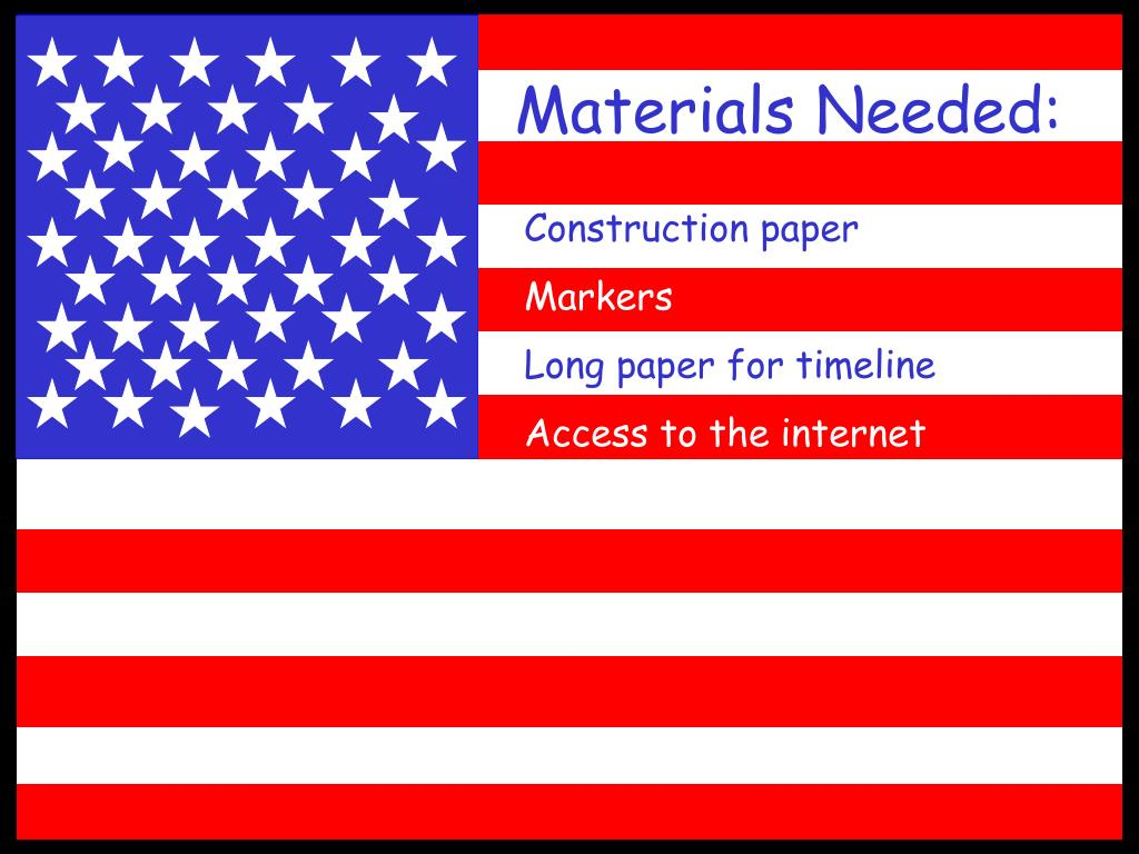 Materials Needed: