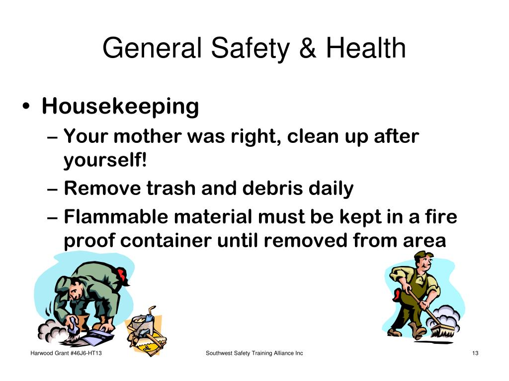 General Safety & Health