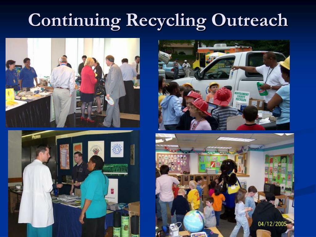 Continuing Recycling Outreach