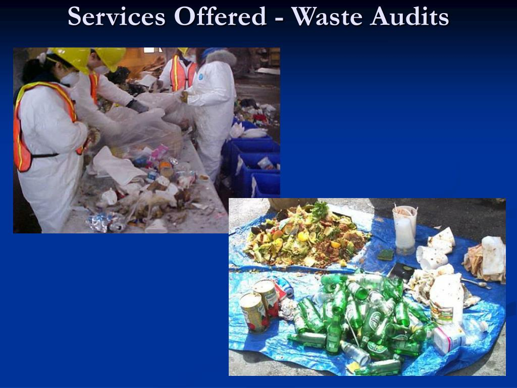 Services Offered - Waste Audits