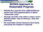 ncdaq approach to reasonable progress19