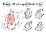 activity quadrangle to circle rule11