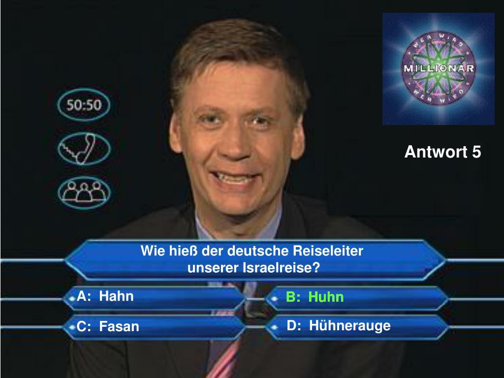 Antwort 5