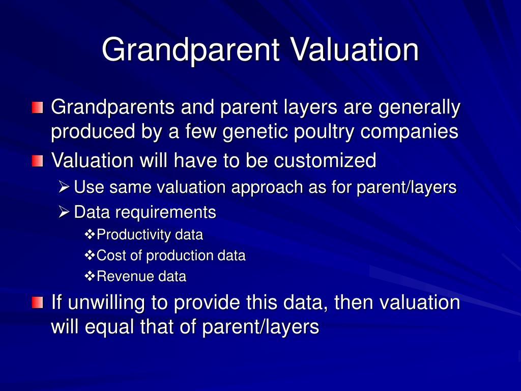 Grandparent Valuation