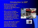 introduction to mip
