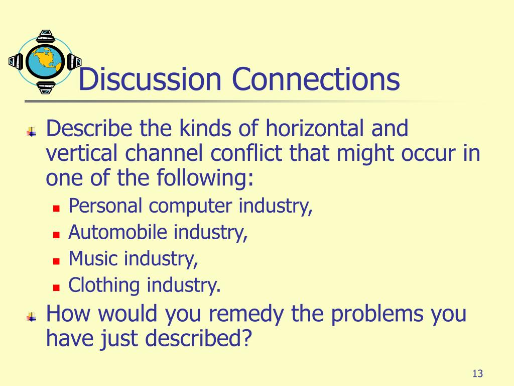 Discussion Connections
