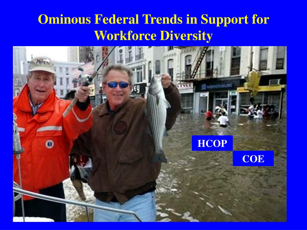 Ominous Federal Trends in Support for Workforce Diversity