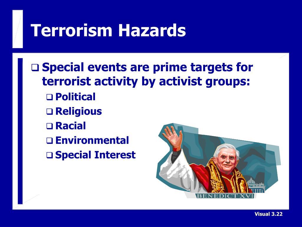 Terrorism Hazards