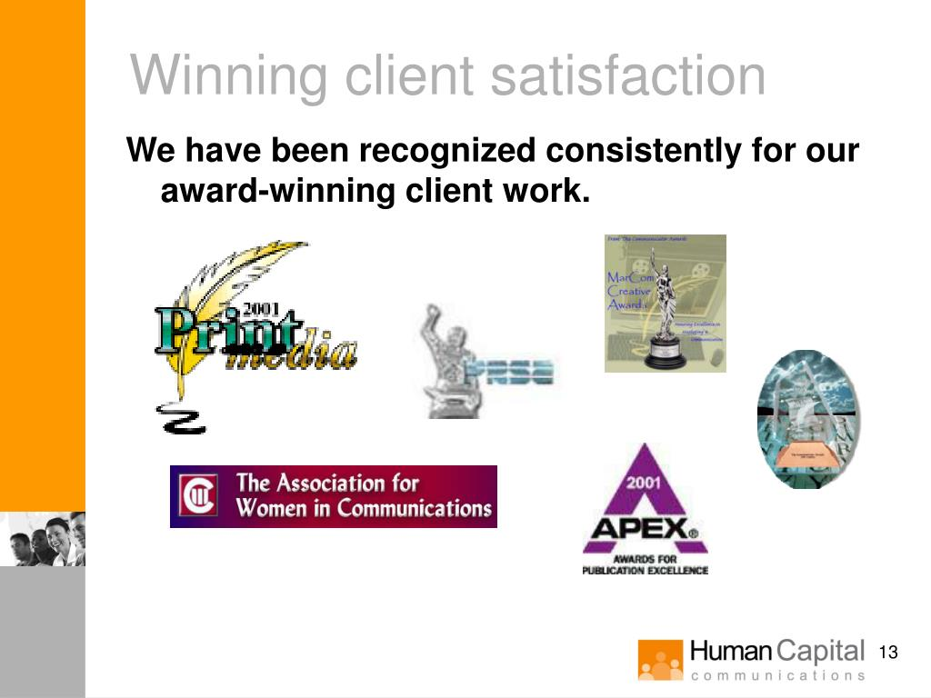 Winning client satisfaction