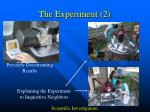 the experiment 2