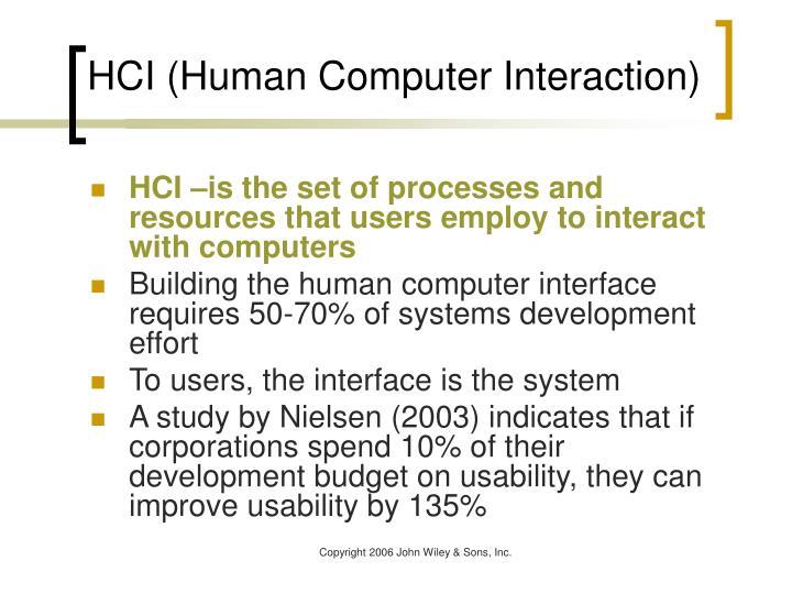 Hci human computer interaction