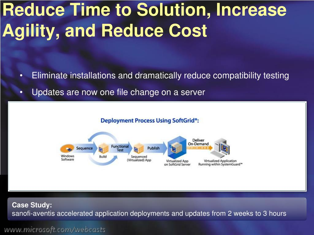 Reduce Time to Solution, Increase Agility, and Reduce Cost
