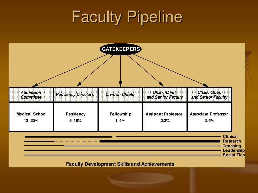 Faculty Pipeline