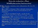 nota de evoluci n y plan soap educaci n instrucci n31