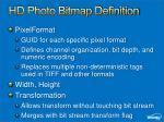 hd photo bitmap definition