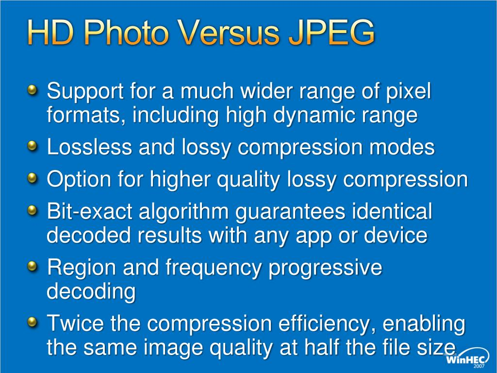 PPT - HD Photo Implementation Guidelines PowerPoint