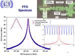 ffo spectrum
