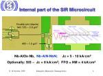 internal part of the sir microcircuit