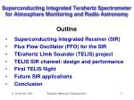 superconducting integrated terahertz spectrometer for atmosphere monitoring and radio astronomy2